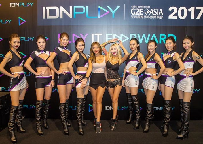 IDNPLAY POKER G2E ASIA